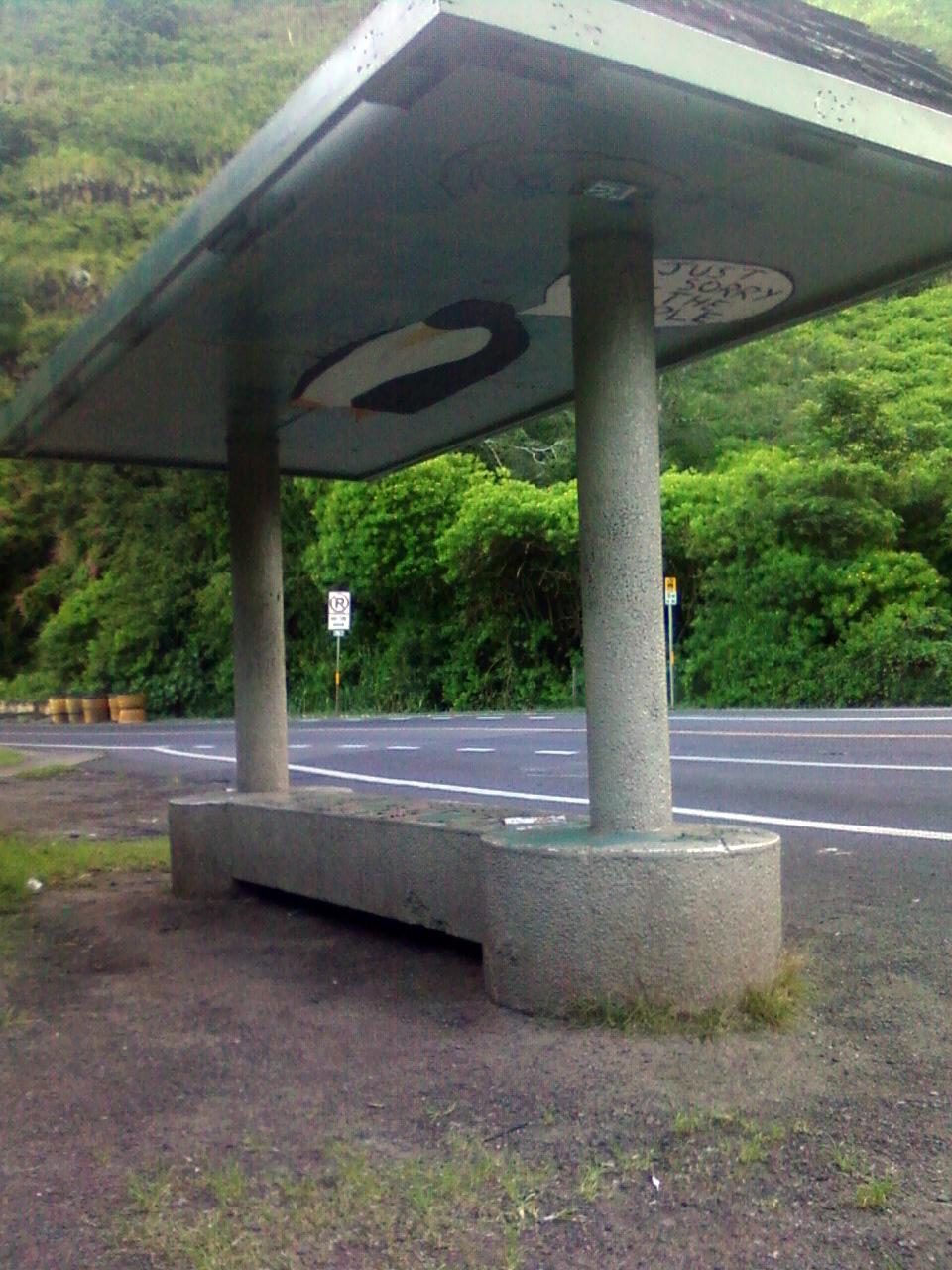 bus shelter hawai'i